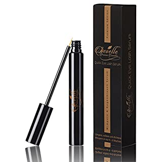 Develle Quick Eyelash Serum 8 ml. |double strength complex of active ingredients | Eyelash Growth Serum | Longer Lashes | EyeLash lengthening| Eyelash Enhancer