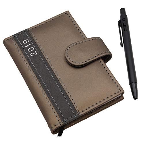 mit Stift Oliv A7 Business Terminplaner Organizer Timer Kalender ()