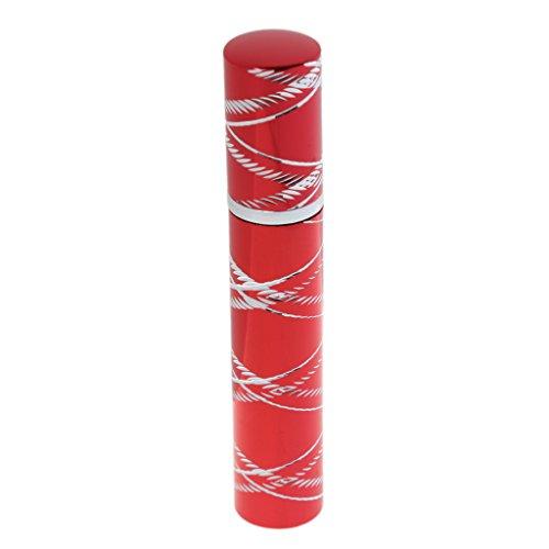 MagiDeal 8ML Bouteille Vide Voyage Parfum Aftershave Atomiseur Pompe Vaporisateur Rechargeable