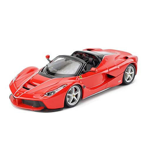 JJJJD Ferrari LaFerrari Racing Car Alloy Modelo de Coche Adornos Fundición a presión Modelo Original Car Collectio, Diseño de simulación 1:24