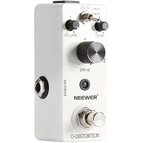 Neewer® Compatto Classico Elettronico Overdrive Chitarra a Pedale True Bypass, Offre due Fasce di Tono (Alto/Basso), Facile da operare, Garantisce Eccellenti