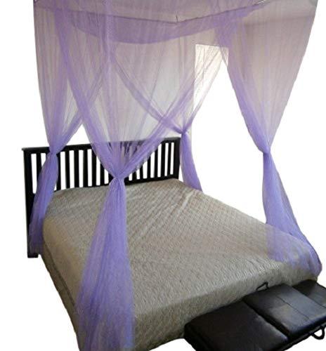 OctoRose Betthimmel für King-Size-Bett, Violett -