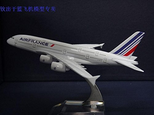dealbox-16cm-air-france-a380-die-cast-metal-desk-aircraft-plane-model