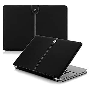 CaseCrown Elite Folio Case (Black) for 2012 MacBook Pro 15 Inch with Retina Display