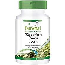 Saw Palm Extract 300 mg - Bote para 3 meses - VEGANO - Alta dosificación -