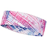 Buff Coolnet UV+ Slim Headband Cinta, Womens, Pink, One Size