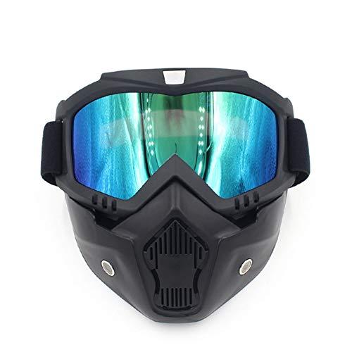 MaxAst Schutzbrille Taktisch Motorrad Brille Nacht Schutzbrille Winddicht Multilcolor