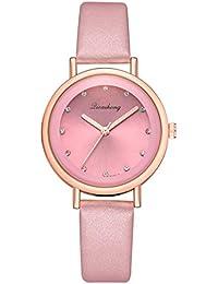 VEHOME Cuero clásico - Ms. Reloj de cuarzo-XR3128-Relojes Inteligentes relojero Reloj reloje de Pulsera Marcas Deportivos