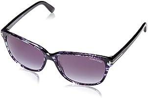 Tom Ford Women's Sunglasses Square Dana, Blue