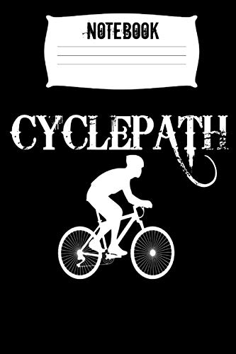Notebook Cylcepath: Cycling Homework Book Notepad Composition and Journal Diary