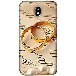 PrintVisa Designer Back Case Cover for Samsung Galaxy C7 (2017) :: Galaxy J7 Plus :: Samsung Galaxy J7 Plus (Gold Golden Churi Fashion Fancy)