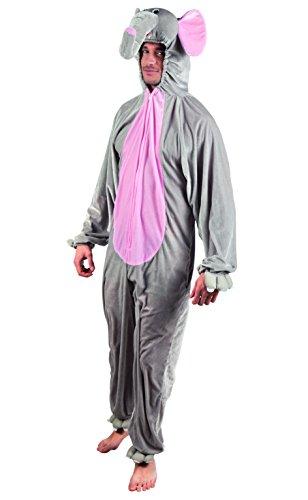 Boland 88031adultos Disfraz Elefante de peluche, XL