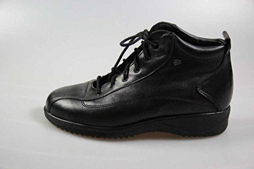 FinnComfort Damen-Stiefel Aarau Schwarz - Größe 5 1/2 Schwarz