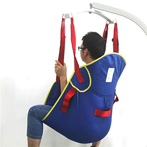 41hrCqkbUpL - ZIHAOH Elevación Paciente De Cuerpo Completo con Soporte De La Cabeza, para Bed Posicionamiento De Cargas - Bariátrica para Discapacitados Elevador para Enfermería, Cuidadores, Ancianos