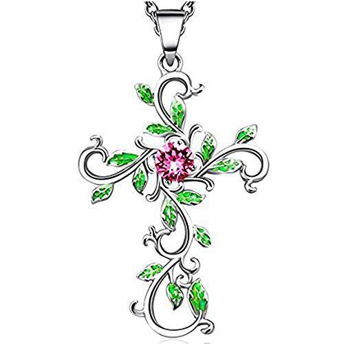 Angelady Halsketten für Frauen mit Anhänger in Silber | Zarte Damen Kette Modisch Damen Schmuck Geschenk für Frauen Mutter Freundin