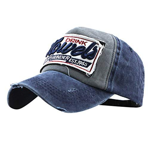 Syeytx Womens Mans Hut Baumwolle Baseball Cap Buchstaben Stickerei Hohe Qualität gestickte Unisex Baseball Caps einstellbar - Gucci Cap Hut