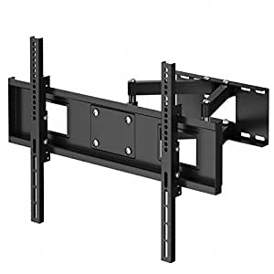 "1home 30-70"" TV Bracket Cantilever Double Arm Tilt Swilvel Wall Mount for inch LCD LED Plasma Flat Screen TV - 50kg Weight Capacity"