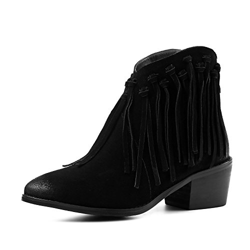 Nine Sevenankle Boot - Stivali Donna Noir