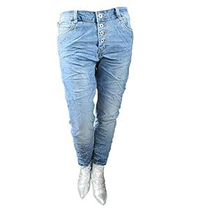 Karostar Jeans - Zip Denim Stretch Baggy-Jeans