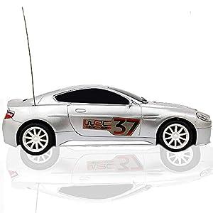 Top Race Aston Martin 4CH RC Control remoto modelo de automóvil - Coche de carreras, con luces TR-AM1