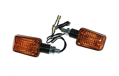 Blinker Set für Roller, Motorrad, Quad, ATV mit E-Nummer vorne & hinten passend