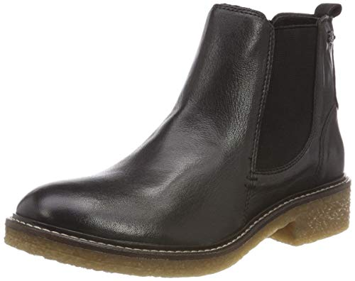camel active Damen Palm 74 Chelsea Boots, Schwarz (Black 3), 39 EU (6 UK)