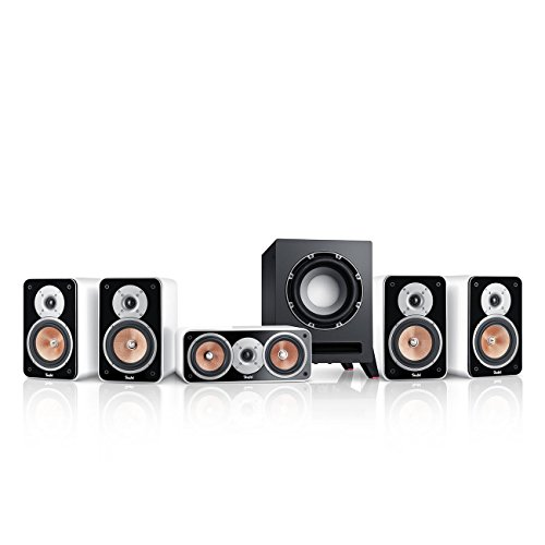 Teufel Ultima 20 Surround 5.1-Set (2017) Weiß Heimkino Lautsprecher 5.1 Soundanlage Kino Raumklang Surround Subwoofer Movie High-End HiFi Speaker