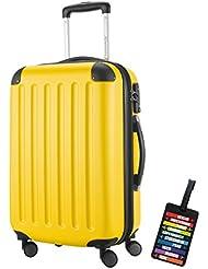 HAUPTSTADTKOFFER® Hartschalen Koffer SPREE 1203 · 3 Koffergrößen (49Liter · 82Liter · 128Liter) · MATT · TSA Zahlenschloss · + KOFFERANHÄNGER