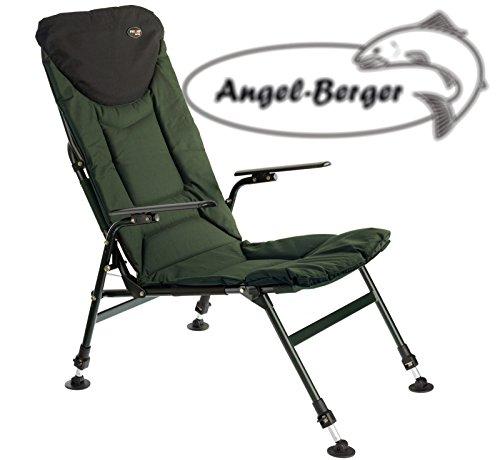 Angel Berger Karpfenstuhl mit Armlehnen Klappstuhl