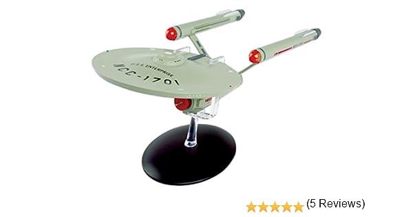 Star Trek USS Enterprise ncc-1701-d 22 cm spécial modèle Eaglemoss anglais ma