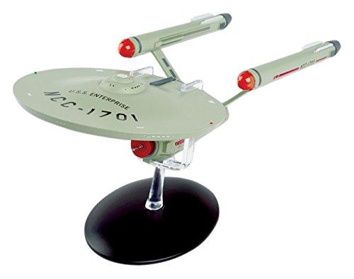 Eaglemoss 28cm Star Trek U.S.S Enterprise NCC-1701Modell Schiff Druckguss Spielzeug
