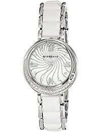 Giordano Analog Mother of Pearl Dial Women's Watch - 60083-11