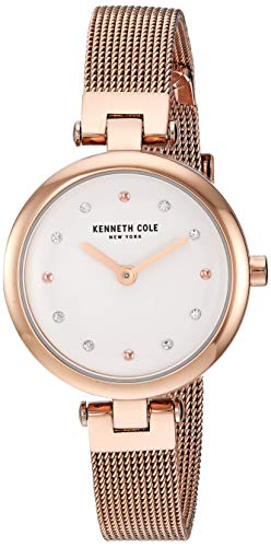 Kenneth Cole New York KC50511003 Women's Analogue Quartz Watch Stainless Steel