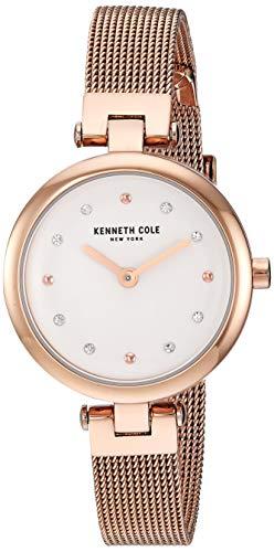 Kenneth Cole New York Mujer Reloj De Pulsera Analógico Cuarzo Acero Inoxidable kc50511003