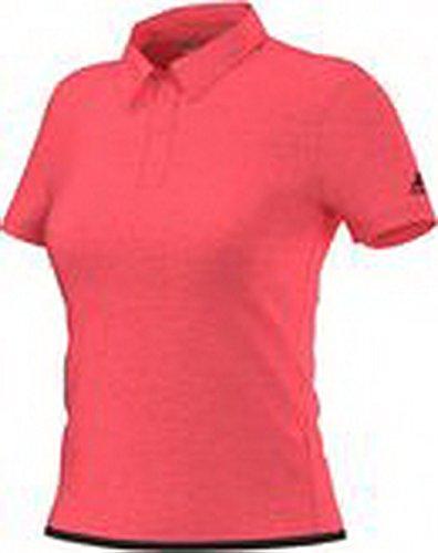 Adidas climachill buste-vêtements uncontrol polo pour femme Rouge - Rouge