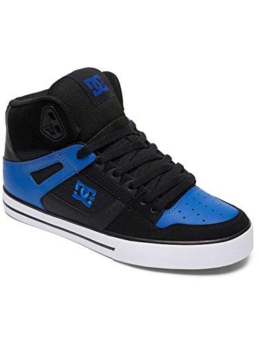 DC Universe Spartan High Wc, Baskets Basses Homme Multi-Couleurs - Black/Blue/White