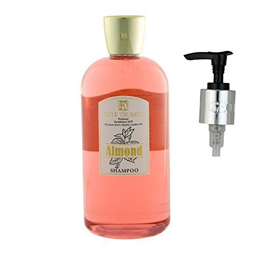 Geo. F. Trumper Amandes Shampooing Grand 500ml Bouteille avec Flacon Pompe