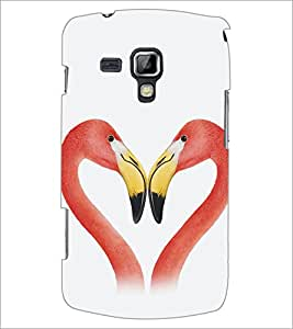 Printdhaba Love D-5350 Back Case Cover For Samsung Galaxy S Duos 2 S7582