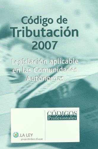 Código de tributación, 2007 (Codigos 2009 (la Ley))