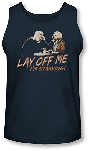 Snl - Männer Lay Me Off Tank-Top Navy