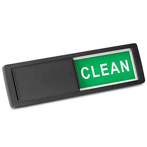 / schmutzig Zeichen | Magnet- oder Haftanzeiger | Spülmaschine Erinnerung | Verwirrung beseitigen | M&W (Schwarz) ()