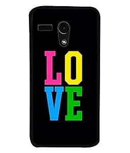 Fuson Designer Back Case Cover for Motorola Moto G :: Motorola Moto G (1st Gen) :: Motorola Moto G Dual (Love heart Girl Valentine Three Hearts)