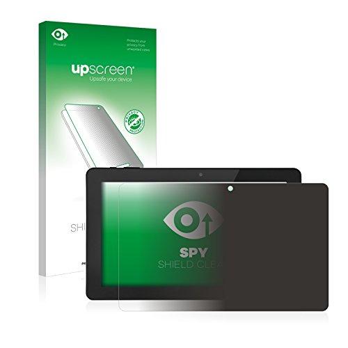 upscreen Anti-Spy Blickschutzfolie kompatibel mit GoClever Quantum 1010 Mobile Pro Privacy Screen Displayschutzfolie - Sichtschutz, Kratzfest Mobile Privacy Screen
