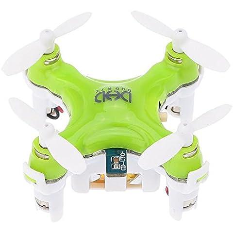 Mini RC sin cabeza drone, megadream 3d Modo sin Cabeza Rollover DHD D1Drone RTF listo para volar R/C Modelo Aviones 6ejes Gyro Helicóptero con control remoto inalámbrico de 2,4GHz Drone Quadcopter Juguete para Niños Interior Flying