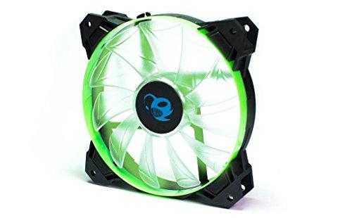 CoolBox dg-va120-gr-3-(LED, 120mm Lüfter) schwarz und grün Gr Led