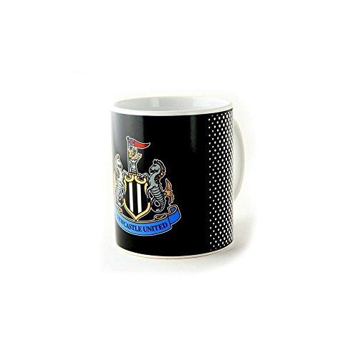Newcastle United FC Utd schwarz weiß verblassen Fußball boxed Becher offiziellen