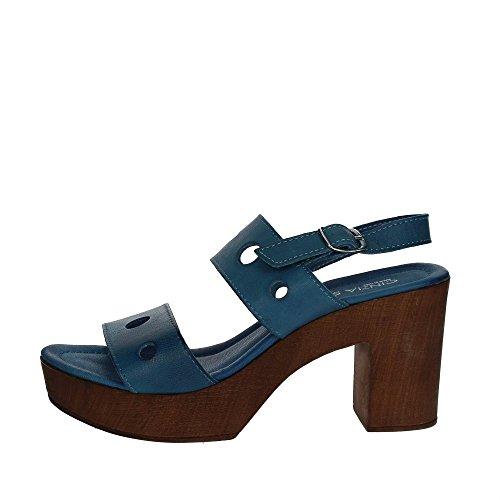 Cinzia Soft IAF283719T Sandale Femme Bleu clair Bleu clair - Chaussures Sandale Femme