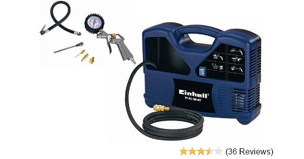 Präferenz Einhell BT-AC 180 Kit Kompressoren-Set: Amazon.de: Baumarkt VS86