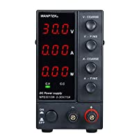 ‏‪Festnight NPS3010W 0-30V 0-10A Switching DC Power Supply 3 Digits Display LED High Precision Adjustable Mini Power Supply AC 115V/230V 50/60Hz Voltage & Current Regulated Dual Output‬‏