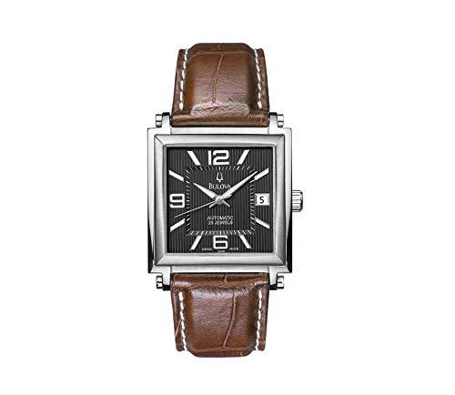 bulova accutron 63b98 orologio uomo automatico swiss made eta 2824 black